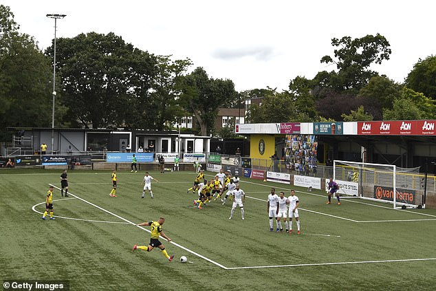 National League football will be returning following financial support from the Government