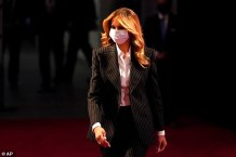 First Lady Melania Trump Tries to Keep White House Residence Safe from her Super-Spreader Husband Donald with Filtration System and Hospital-grade Cleaning
