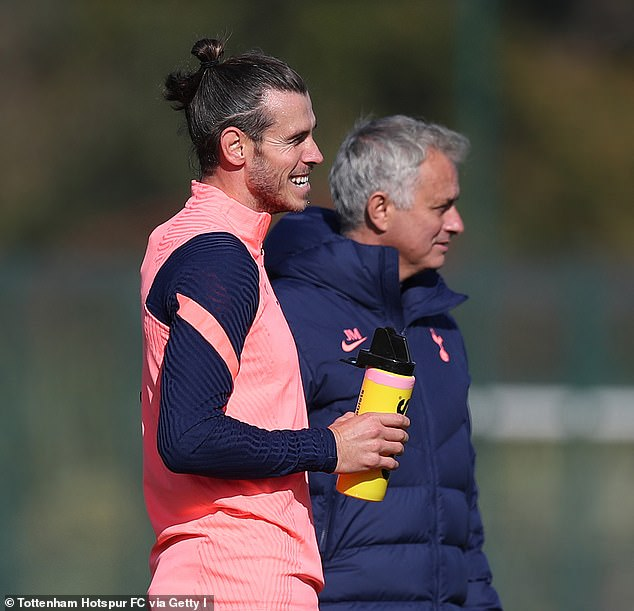 The pair have now been reunited on the same side after Mourinho signed Bale on a year's loan