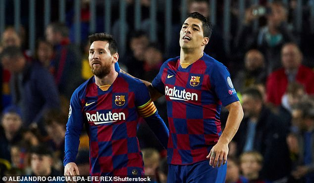 Luis Suarez says his friendship with Lionel Messi led to Barcelona exit