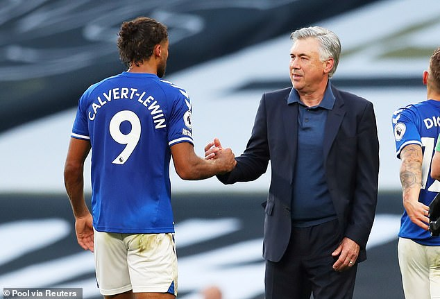 Manager Carlo Ancelotti has revolutionized Everton and their players since joining last season