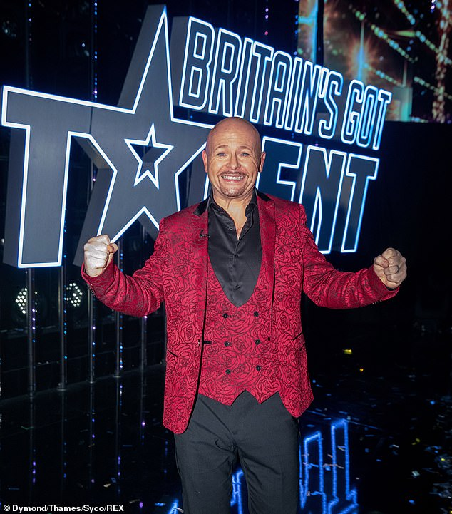 Winner! In Saturday's final, musical comic Jon Courtenay became the very first Golden Buzzer issue to win Britain's Got Talent