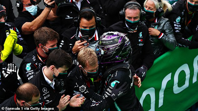 Hamilton said that he has the best team behind him and revealed they inspire him