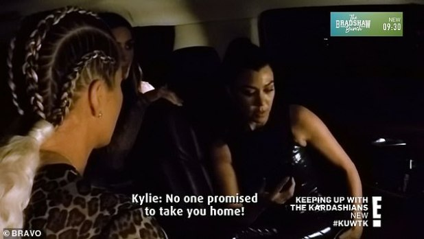 Ride Reasoning: Kylie and Kendall argue about riding together as their mother Chris Jenner and step sisters Kourtney, Kim and Khloe