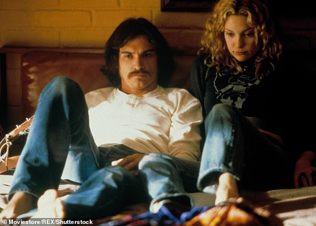 Kate, meanwhile, followed up with a good on-screen kisser: Billy Crudup in 2000s Almost Famous `` was good, '' she said.