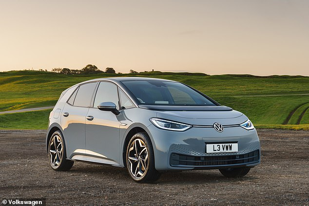 VW's electric family car comes under £30,000: The ID.3 Life will become the most affordable version of the new Golf-sized hatchback, priced at £29,990 including the Government's plug-in vehicle grant