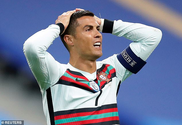 Isolation: Portuguese coach Santos last month provided an update on Ronaldo's situation ahead of the UEFA Nations League draw after the footballer tested positive for Covid-19