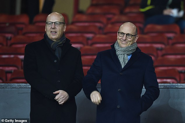 Manchester United supreme Joel Glazer (right) was at the forefront of the project