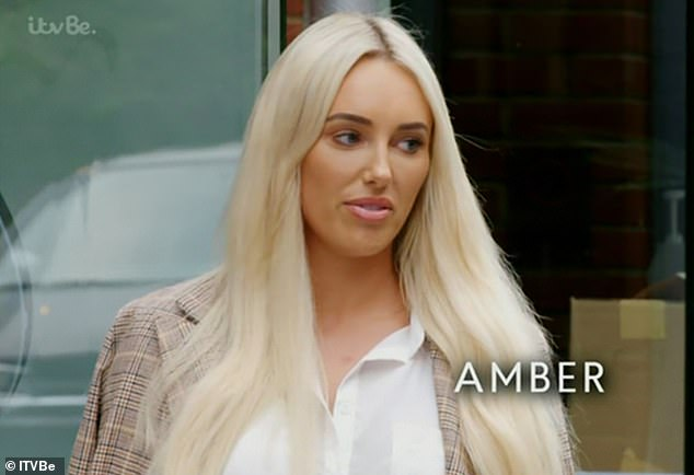 Ouch! Things took a dramatic turn with both women slinging personal insults at each other, as Nicole told Amber she is 'boring' which is why her boyfriend Dan Edgar, 30, has previously been drawn to co-stars Chloe Sims and Clelia