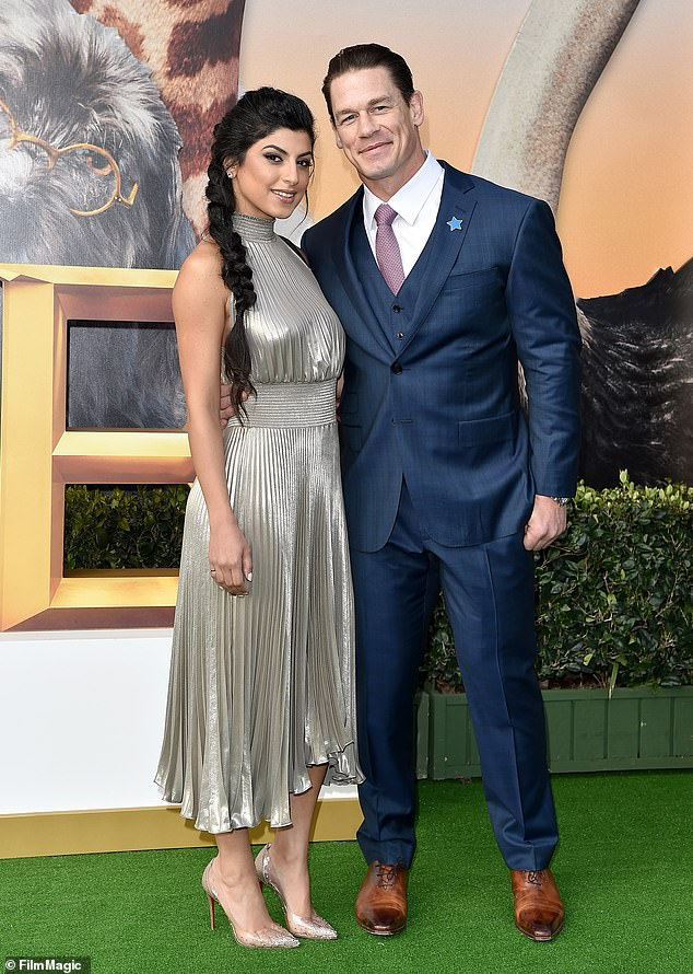 Married: WWE actor and superstar John Cena is officially off the market because he secretly tied the knot with Shay Shariatzadeh