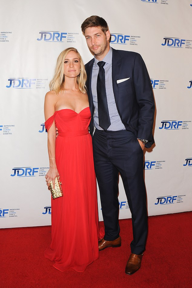 The ex: In April the star separated from her husband of seven years, former Chicago Bears player, Jay Cutler, 37. Seen in 2015