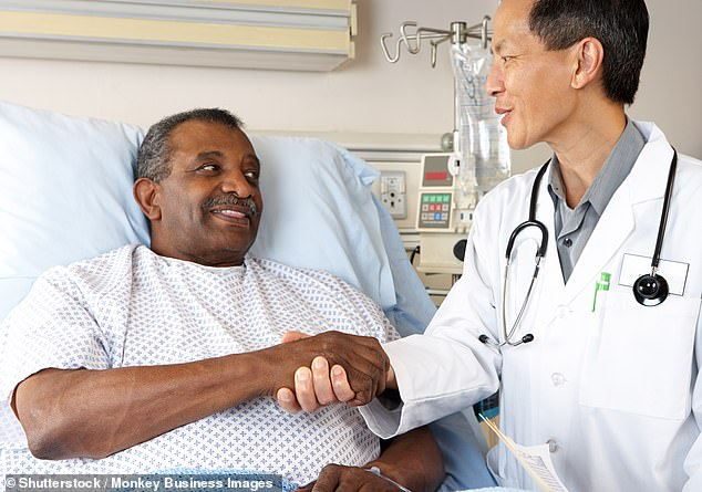 Having a prostate exam is one task that many men struggle to build the courage to do. However, one person described how simple the procedure is and how it doesn't hurt in the slightest (stock image)