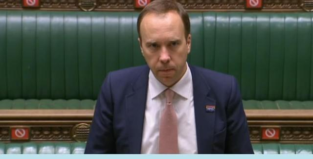 Health Secretary Matt Hancock had been expected to announce the Tier Three news in a Commons statement. Instead he merely told the House that 'discussions are ongoing'