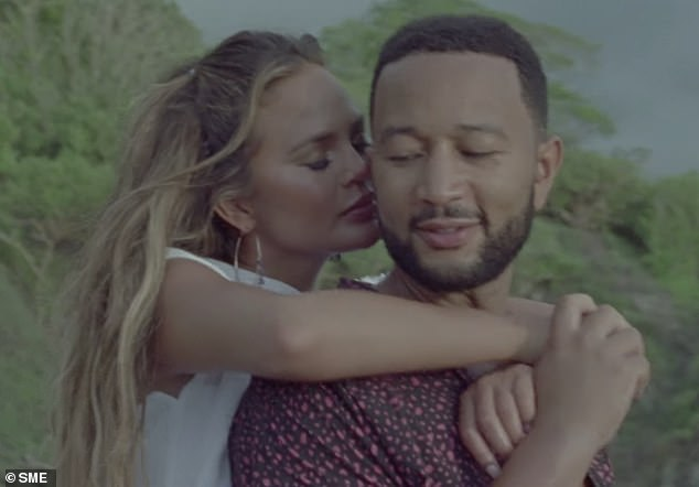 Big news: The couple already announced their pregnancy in the John's Wild music video, which dropped in August