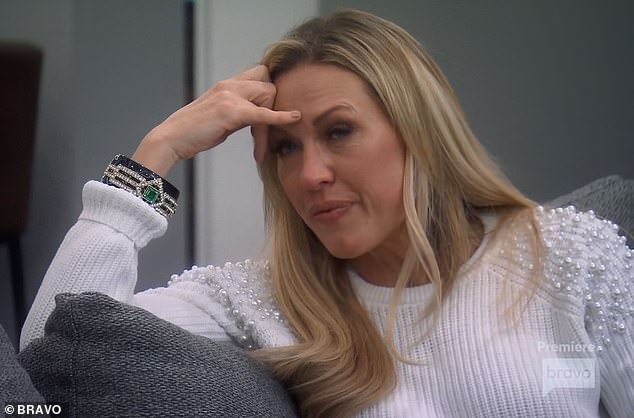 Like she said on Wednesday night's RHOC season premiere: Braunwyn told Glamour that she'd been drinking since she was 14, and has 'never had a healthy relationship with alcohol'