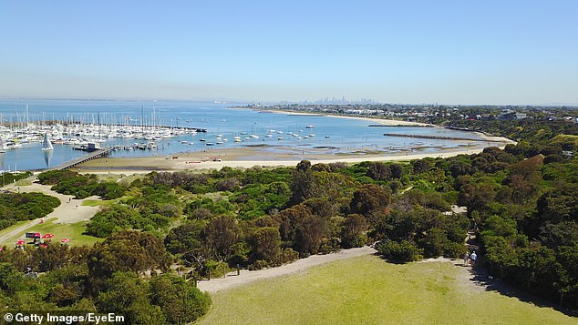 Beachside:The affluent suburb (pictured) is 14km from Melbourne's CBD and is in the City of Bayside, which is the council involved with the current season