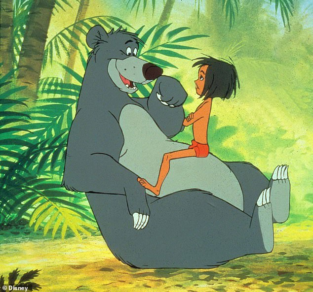 A bear necessity: The Jungle Book, a 1967 adaptation of Rudyard Kipling's novel, has also been highlighted for its perceived use of negative racial stereotypes