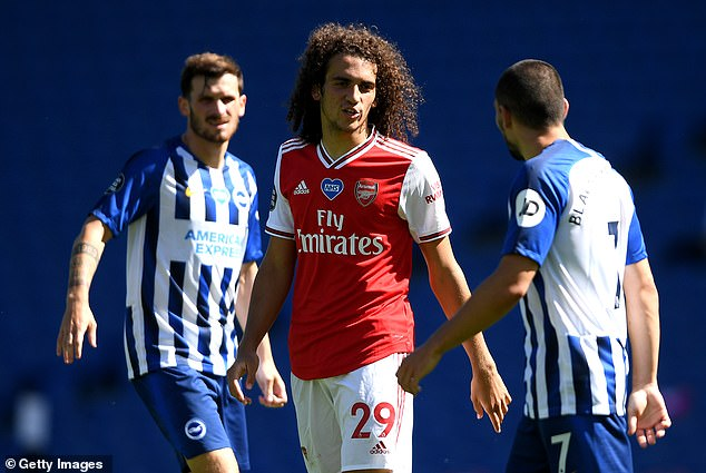 Mateo Guendouzi was also frozen out in June with Arteta refusing to stand for his poor attitude