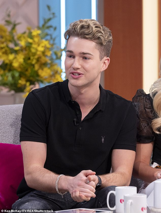 Ready for a challenge: Former Strictly professional AJ Pritchard has addressed the speculation that he is appearing on the I'm a Celebrity