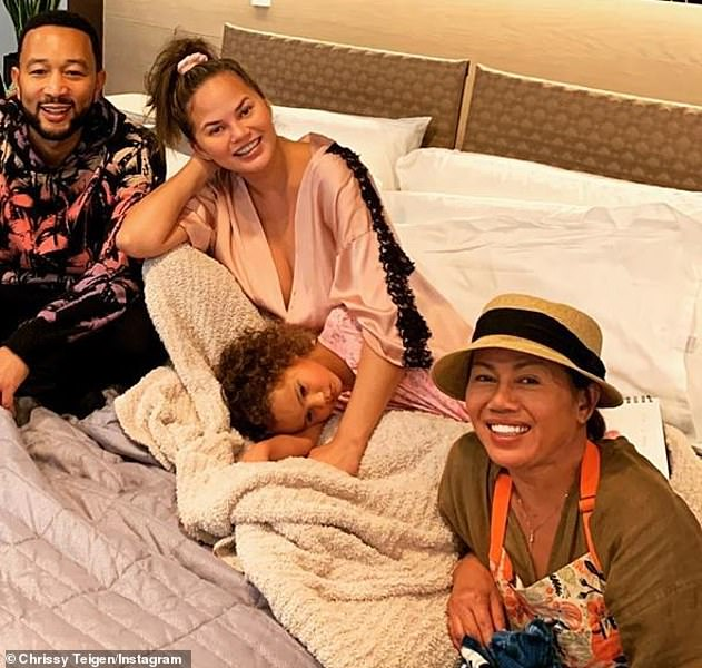 Bed rest: The Chrissy's Court star was previously put on bed rest, before she was hospitalized for excessive bleeding from her placenta