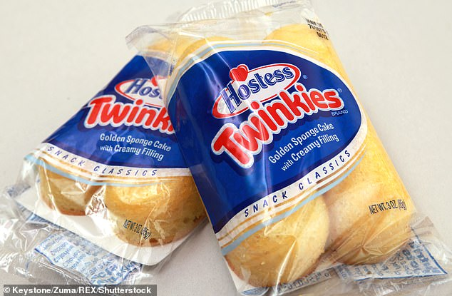 A Hostess spokesperson said the current Twinkie has a shelf life of 65 days, thoughTheresa Cogswell, vice president for research and development, says they're freshest for about 25 days.'You can eat older Twinkies, but they're just not as good,' she said