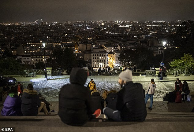 Millions of French people enjoy a last night of freedom before a Covid-19 curfew in Paris and other large cities comes into effect as the Government aims to reduce the spike in new cases