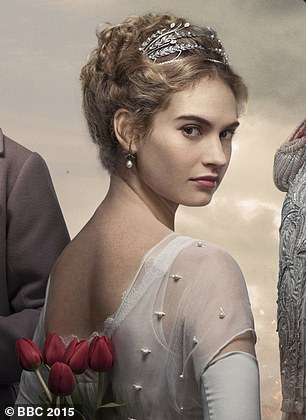 In 2016, fresh from her success as the rebellious Lady Rose in Downtown Abbey, Lily J was cast as heroine Natasha Rostova in the BBC's £12 million adaptation of War And Peace