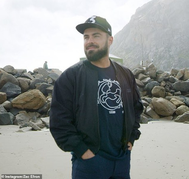 Local: Zac was first reported to be quietly living in the beachside town in March