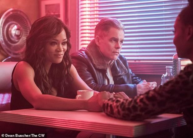 Keeping her alive: 'I loved being Josie McCoy's mom at Riverdale, which has been wonderful right now.  I have started spinoffing, Katie Keane and I have to direct my first Lifetime movie, A Murder to a Memorial, which aired last month.  'Robin is portrayed in Riverdale with co-star Martin Cummins