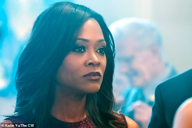One Star: Robin can now be seen on small screens everywhere in the hit CW television series Riverdale, which premiered in 2017 and is about to enter its fifth season;  Pictured on Rob Bin Riverdale