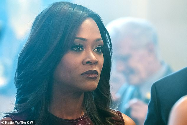 A star:Robin can now be seen on small screens everywhere in the hit CW television series Riverdale, which premiered in 2017 and is about to enter its fifth season; Robin pictured on Riverdale