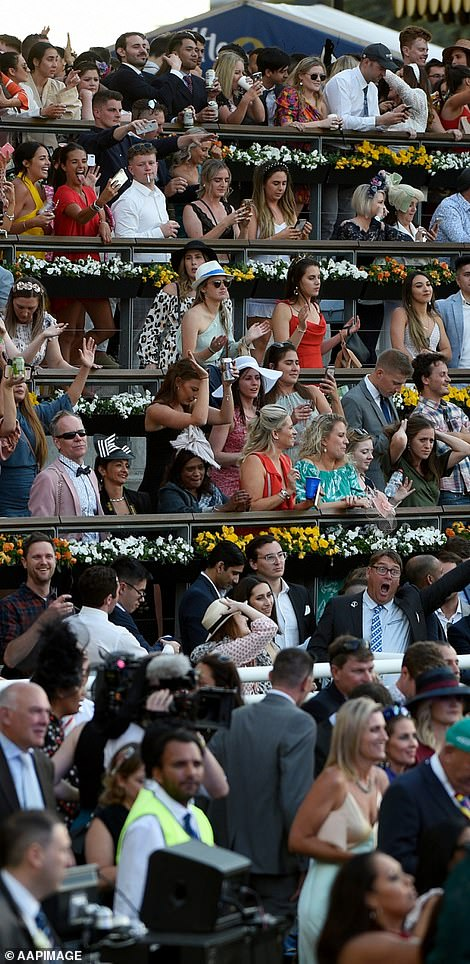 How Everest typically looks: Thousands pack out Royal Randwick Racecourse for the event in 2019