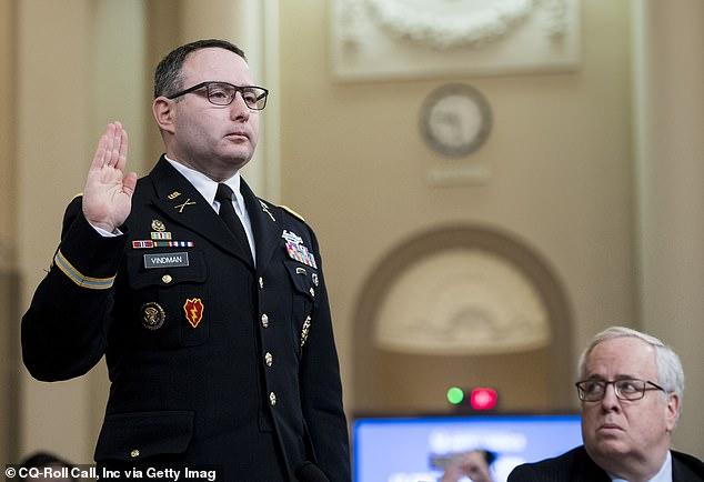 Lt. Col. Alexander Vindman gave damning evidence that lead to Trump's impeachment