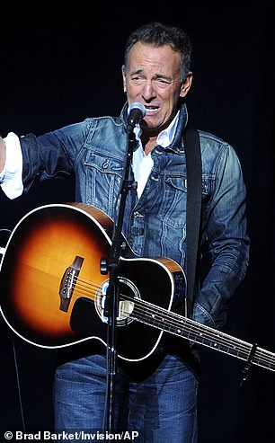 Bruce Springsteen said he would be on the 'next flight' to Australia if Trump wins