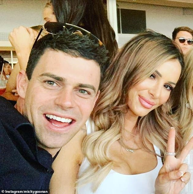 Pals?The pair also hung out with a few friends at the Burleigh Pavilion in Queensland earlier this month