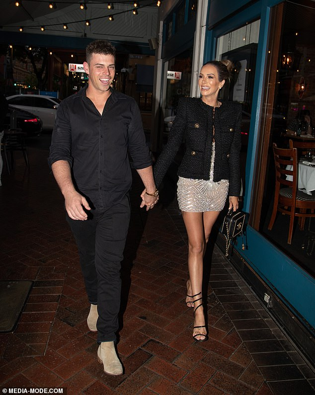 What's up guys?They've been teasing a reunion for weeks now. And on Friday night, Married At First Sight exes Michael Goonan and Stacey Hampton appeared to make it official as they left a restaurant hand in hand. Both pictured