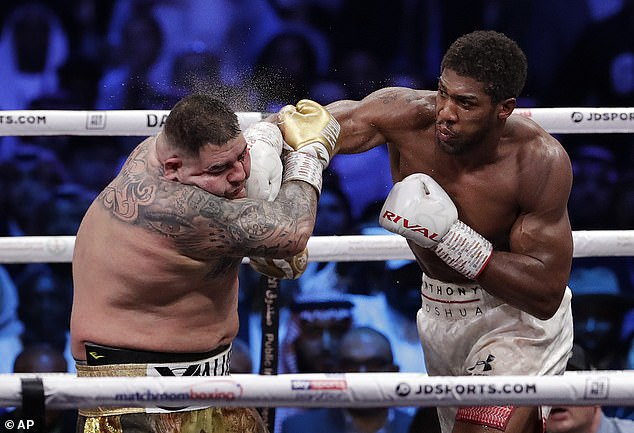 The fighting Brit last turned out against Andy Ruiz in December of 2019, winning comfortably