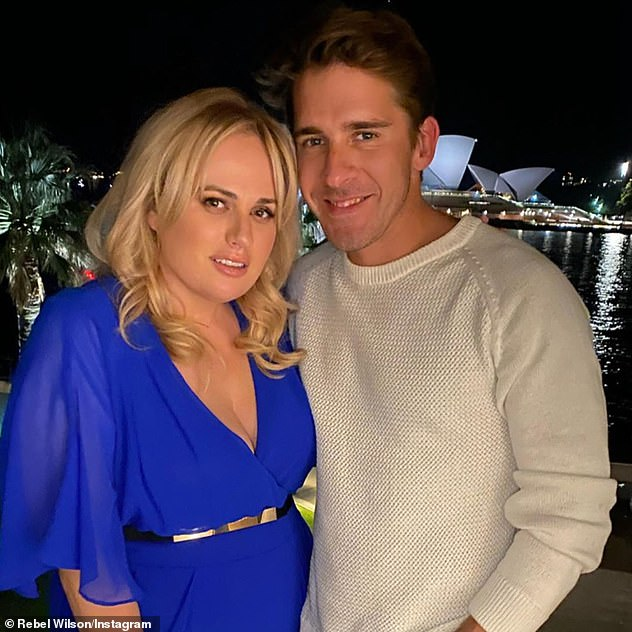 Pals: There was talk about Hugh's close relationship with actress Rebel Wilson (left), with the pair spending time together yachting and running. Rebel is currently dating Jacob Busch