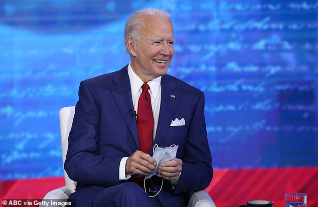 ABC News declined to comment about two questioners at their town hall with former Vice President Joe Biden