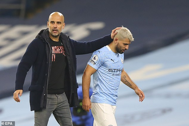 Guardiola has taken on Aguero's defense, saying the Argentine is the 'nicest person' he has ever met