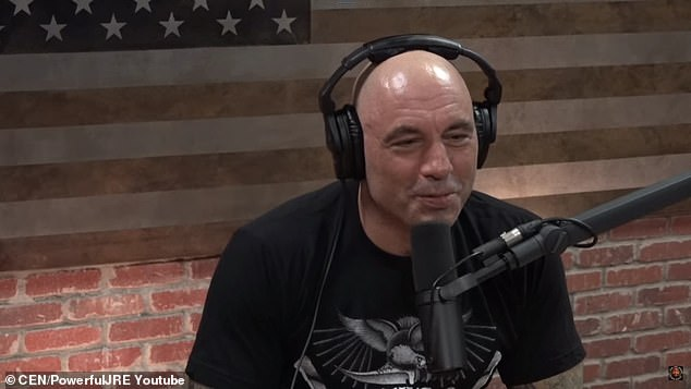 Big deal: Rogan, who used to air his podcast via YouTube, is now airing exclusively through Spotify after agreeing to a 'more than $100 million' licensing deal with the streaming platform in May