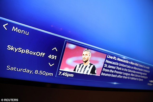 Sky Sports only offered 15 minutes of pre-match analysis of their match before kick-off