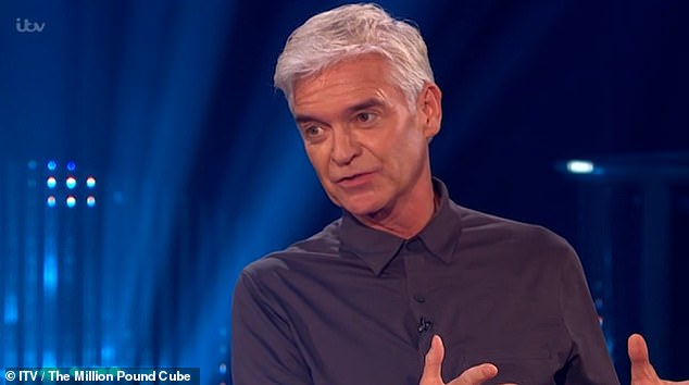 Oh no!  It comes after The Million Pound Cube was forced to apologize after viewers found themselves without sound after the ITV show hosted by Phillip returned after five years on Saturday.