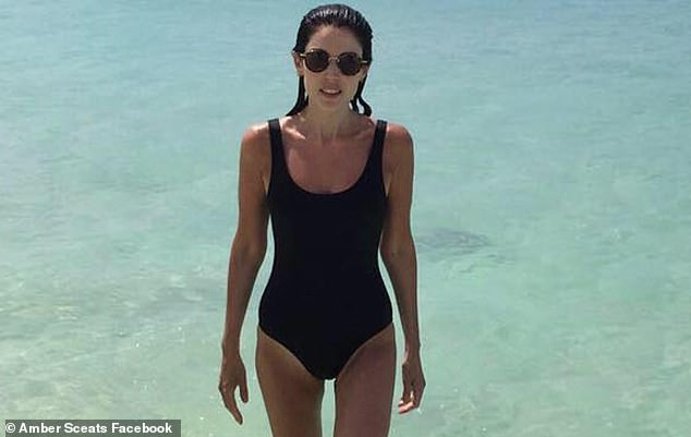 Ms Sceats (pictured), who considers PR maven Roxy Jacenko one of her close friends, maintained her luxury jewellery business in the midst of all the devastation