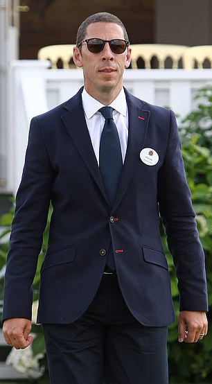 Christian at the Guards Polo Club in Egham in 2016