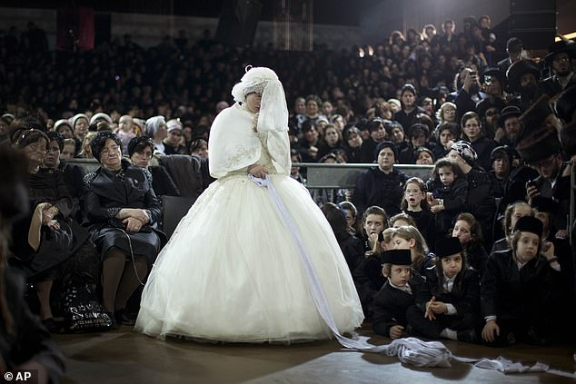 The rabbi's prominence means thousands often attend weddings for his family members