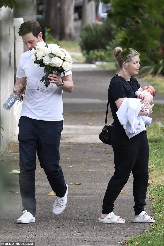Parents: Emma and Charlie, a finance worker from Sydney, already share a one-year-old son, William, who was born on April 16, 2019