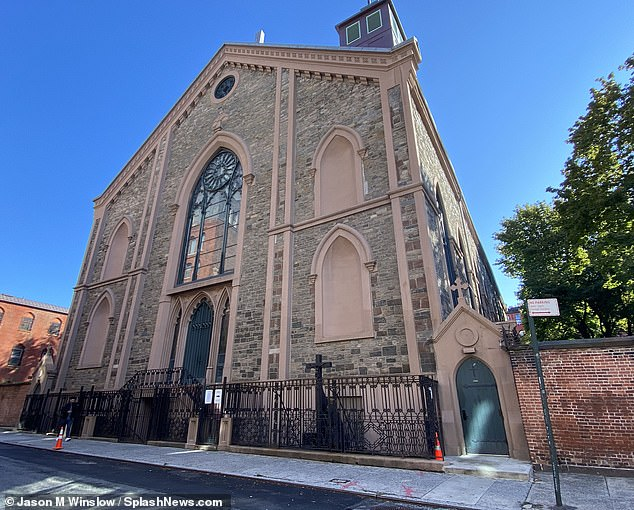 A family vault found beneathThe Basilica of St. Patrick's Old Cathedral in Manhattan can be purchased for $7million