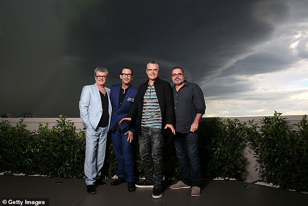 Long career: The eagerly anticipated show will feature up to 200 songs recorded from INXS, beginning from when they first rocketed to fame in 1977.
