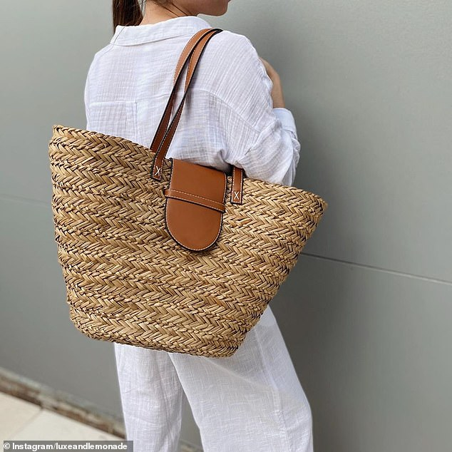 Can you believe it's Kmart? This $20 tote has just hit the shelves at the Australian discount store, and fashionistas are raving about its similarity to a designer style 43 times the price